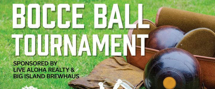 Bocce Ball Tournament & Fundraiser