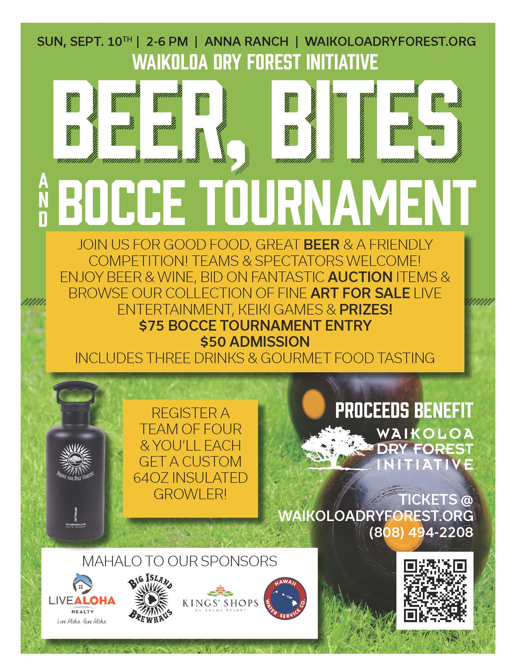 Beer, Bites & Bocce
