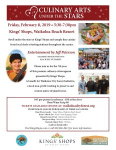Culinary Arts Under the Stars @ Kings Shops